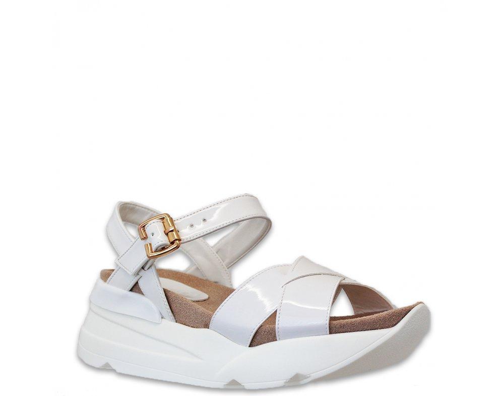 Sandále MO66-T-6 WHITE
