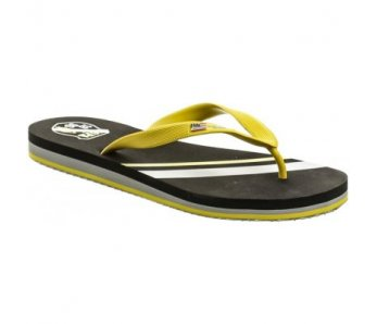 Pánske šľapky TRIKER1 Black/yellow