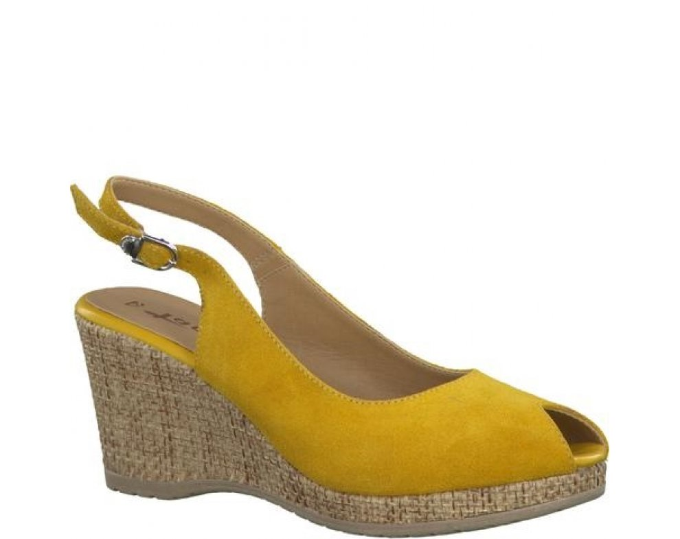 Sandále TAMARIS 1-28053 yellow