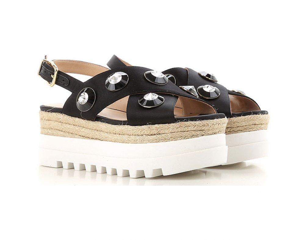 Crisscross sandále LIU JO S18065T038022222 NERO
