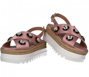 Crisscross sandále LIU JO S18065T038041310 ROSE