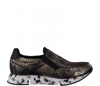 Tamaris sneakersky 1-1-24701-37-925 PEWT./BLK GLAM