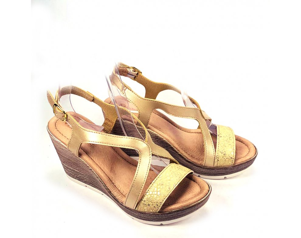 Dámske sandále CH000024 ZLATÁ