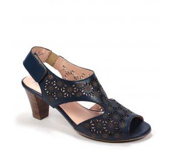 Dámske sandále 9J65-3 BLUE