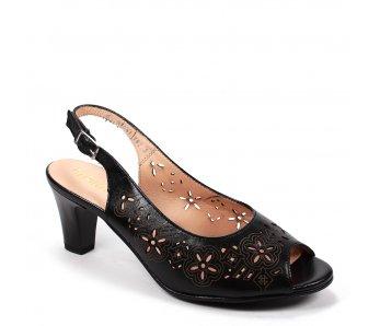 Elegantné sandále 9K56-1 NERO