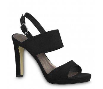 Sandále 1-1-28354-22 001 BLACK
