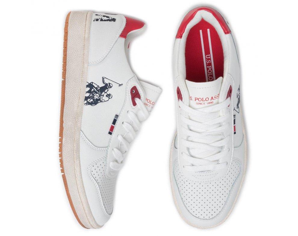 Pánske tenisky U.S. Polo JACKSON-WHI-RED