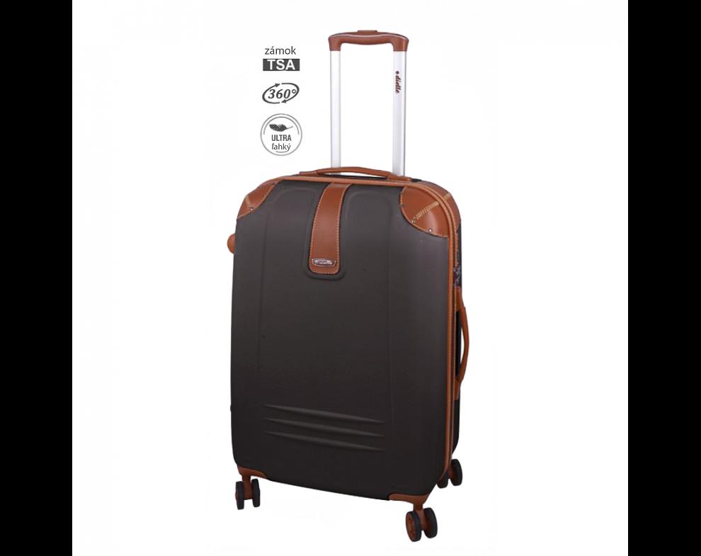 Cestovný kufor SET155/ MARRONE