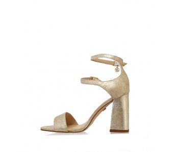 Sandále SoloFemme SF60814-13-H40/000-07-00 ZLATÁ