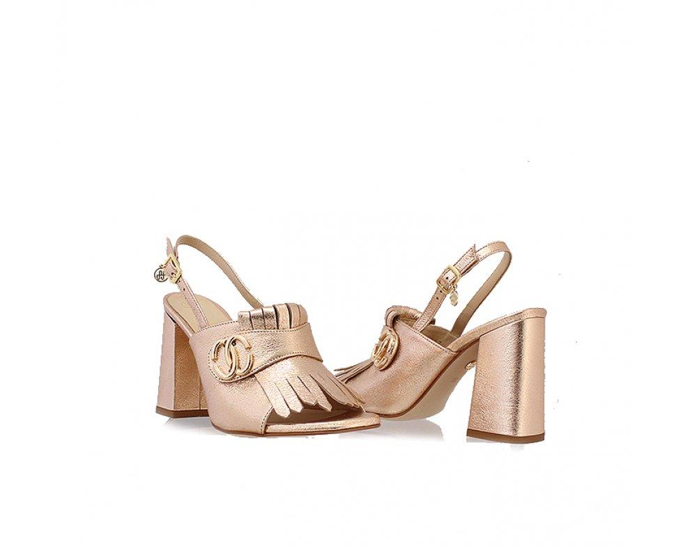 Sandále SoloFemme SF60817-13-H27/000-07-00 ROSEGOLD