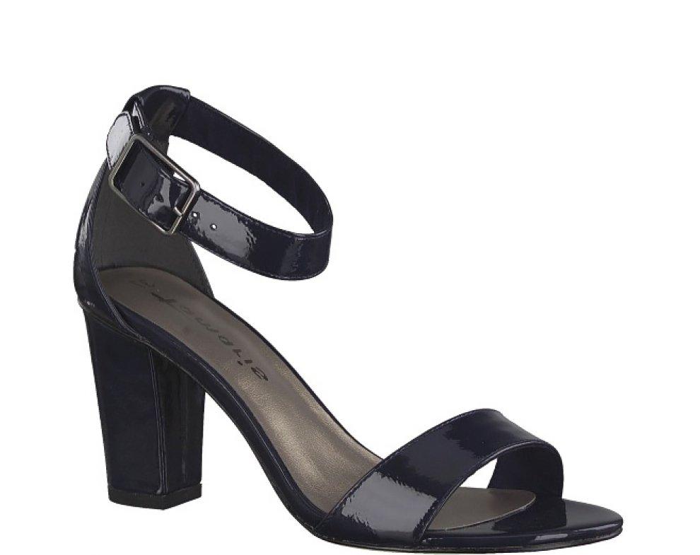 Sandále 1-1-28018-22 826 NAVY PATENT