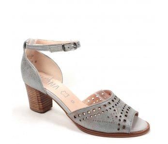 Dámske sandále MARIT 9J76-1 GREY