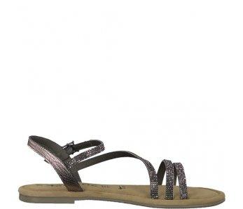 Sandále 1-1-28113-22 765 PEWTER GLAM