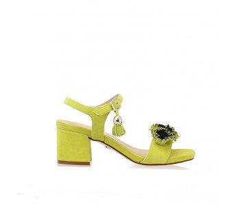 Sandále SoloFemme SF33701-01-H51/H26-07-00 PISTACIA SEMIŠ