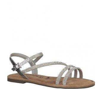 Sandále 1-1-28113-22 919 SILVER GLAM