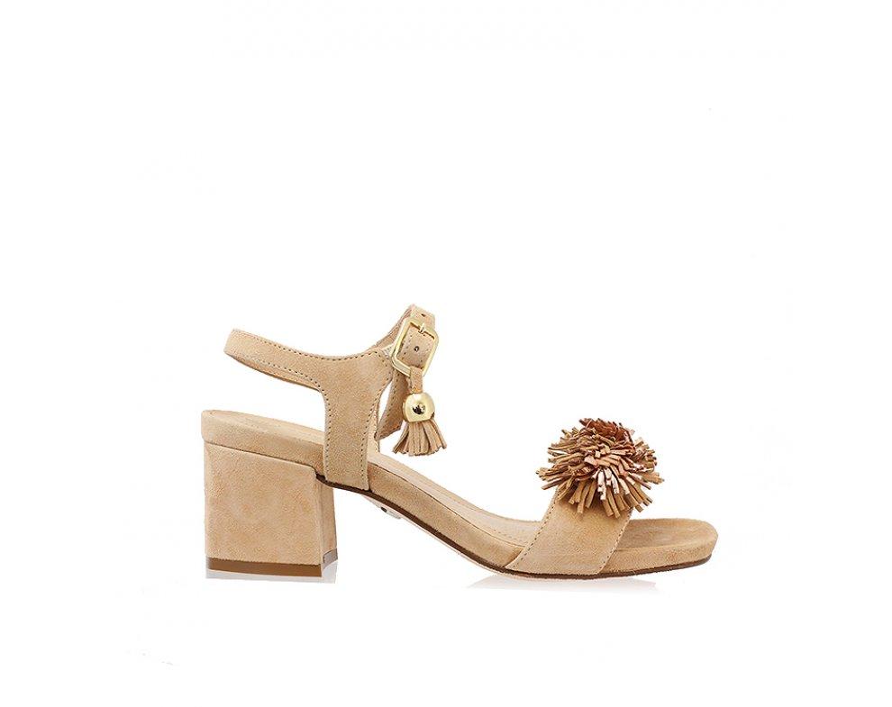 Sandále SoloFemme SF33701-01-H47/H27-07-00 BÉŽOVÁ SEMIŠ