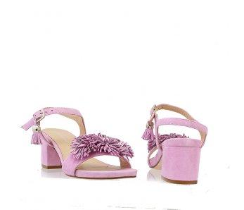 Sandále SoloFemme SF33701-01-H50/H25-07-00 FIALOVA SEMIŠ