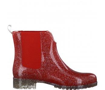Vyhdázková obuv TAMARIS 1-1-25445-37-589 RED/SILVER