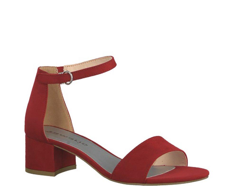Sandále 1-1-28201-22 22 515 LIPSTICK