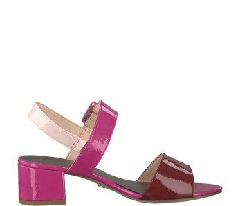 Sandále 1-1-28211-22 505 FUXIA COMB