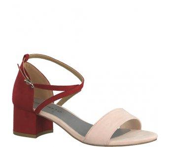 Sandále 1-1-28237-22 643 POWDER/LIPSTICK