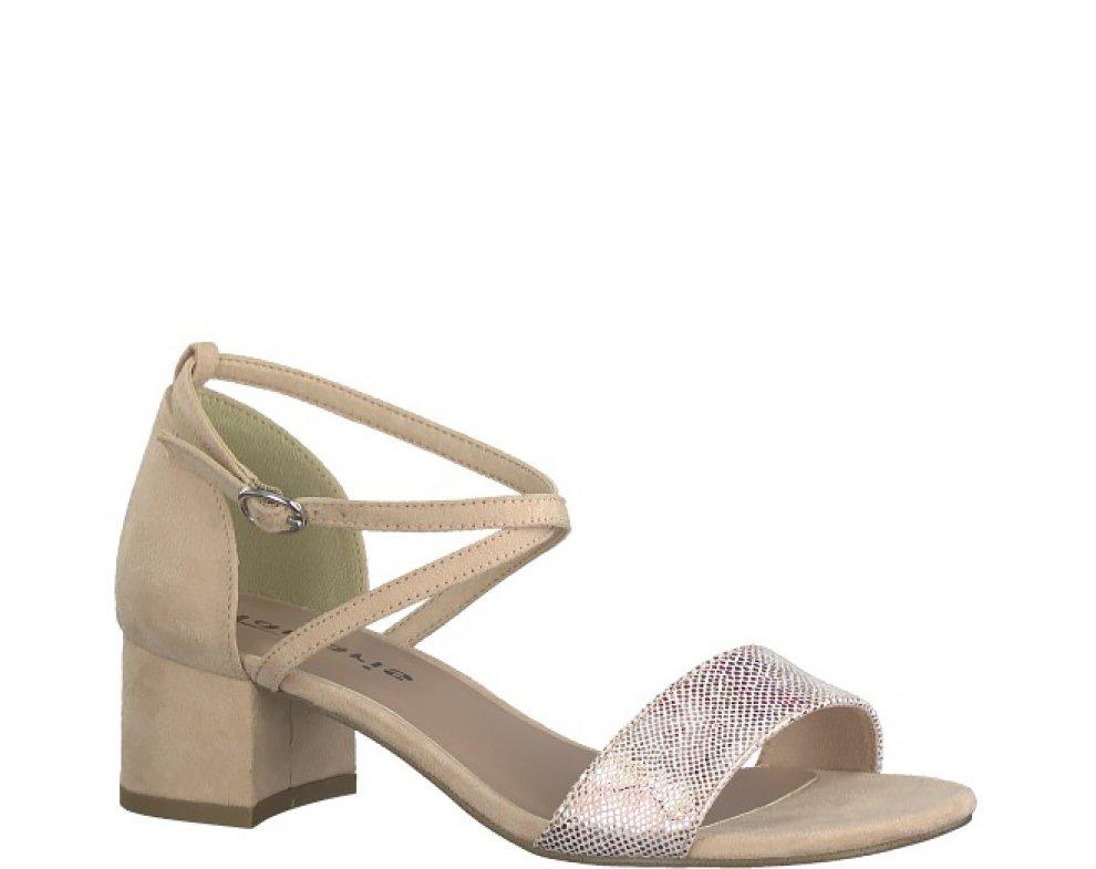 Sandále 1-1-28237-22 504 ROSE FLOWER