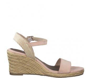 Sandále 1-1-28300-22 539 ROSE/BEIGE
