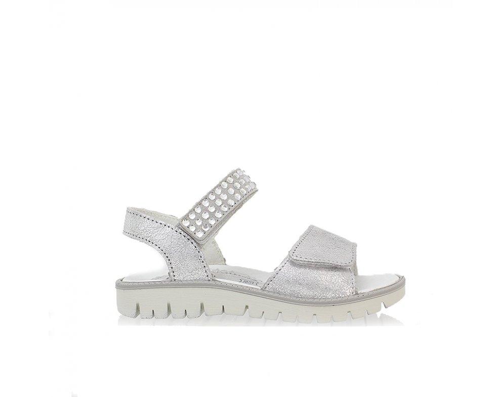 fcd78516b064 Dievčenské sandále 1382500 ARGENTO PERLA 31-35 ...