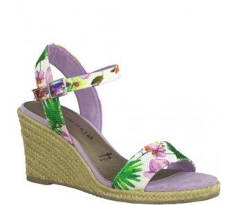 Sandále 1-1-28300-22 908 FLOWER COMB