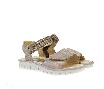 Dievčenské sandále 1382522 TAUPE 31-35