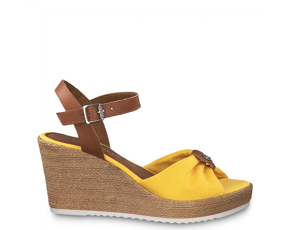 Sandále 1-1-28341-22 634 SUN/COGNAC