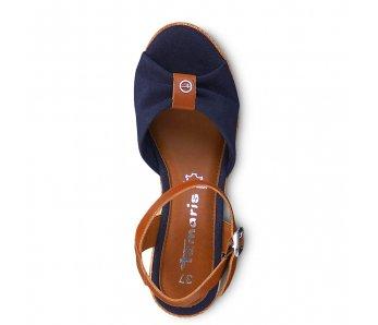 Sandále 1-1-28341-22 804 NAVY/COGNAC