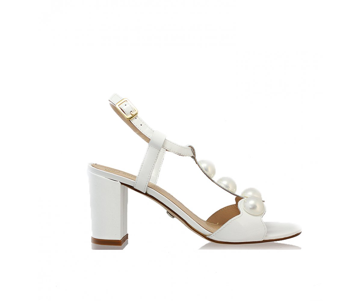 Sandále SF82423-33-H54 000-07-00 BIELA LAK  02b6af8509b