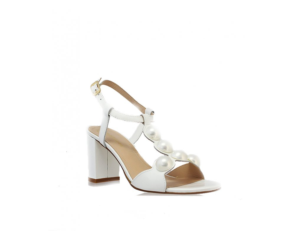 Sandále SF82423-33-H54/000-07-00 BIELA LAK