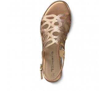 Sandále 1-1-28346-22 958 COPPER BLACK