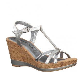 Sandále 1-1-28347-22 941 SILVER