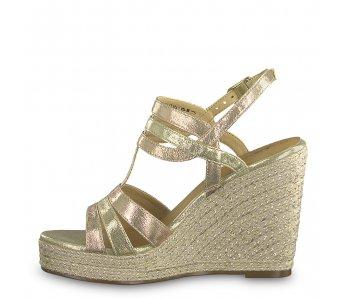 Sandále 1-1-28372-22 918 ROSE MET./GOLD