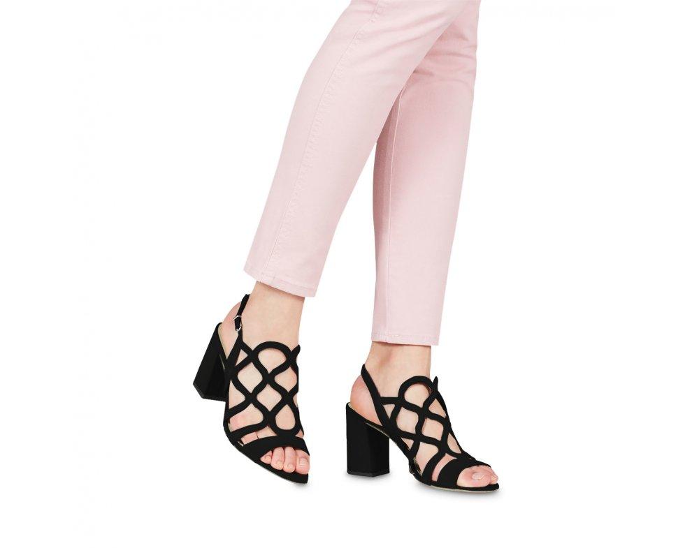 Sandále 1-1-28373-22 001 BLACK