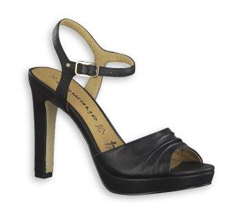 Sandále 1-1-28376-22 003 BLACK LEATHER