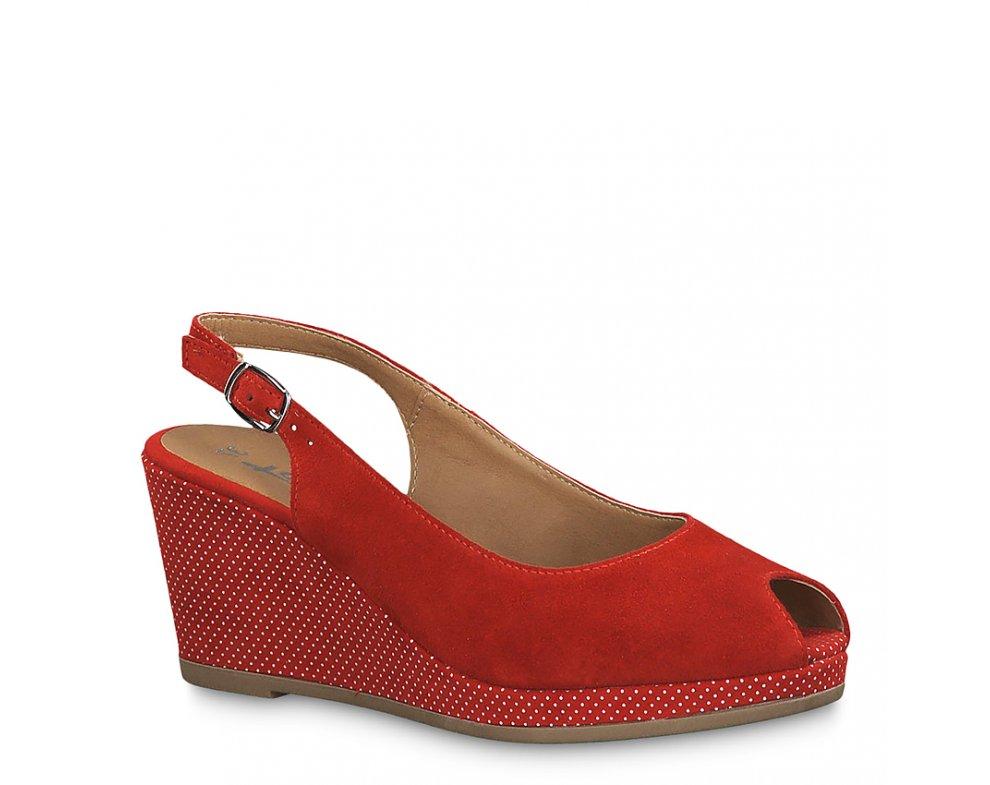 Sandále 1-1-29303-22 655 LIPSTICK/DOTS
