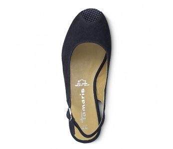 Sandále 1-1-29303-22 891 NAVY/DOTS