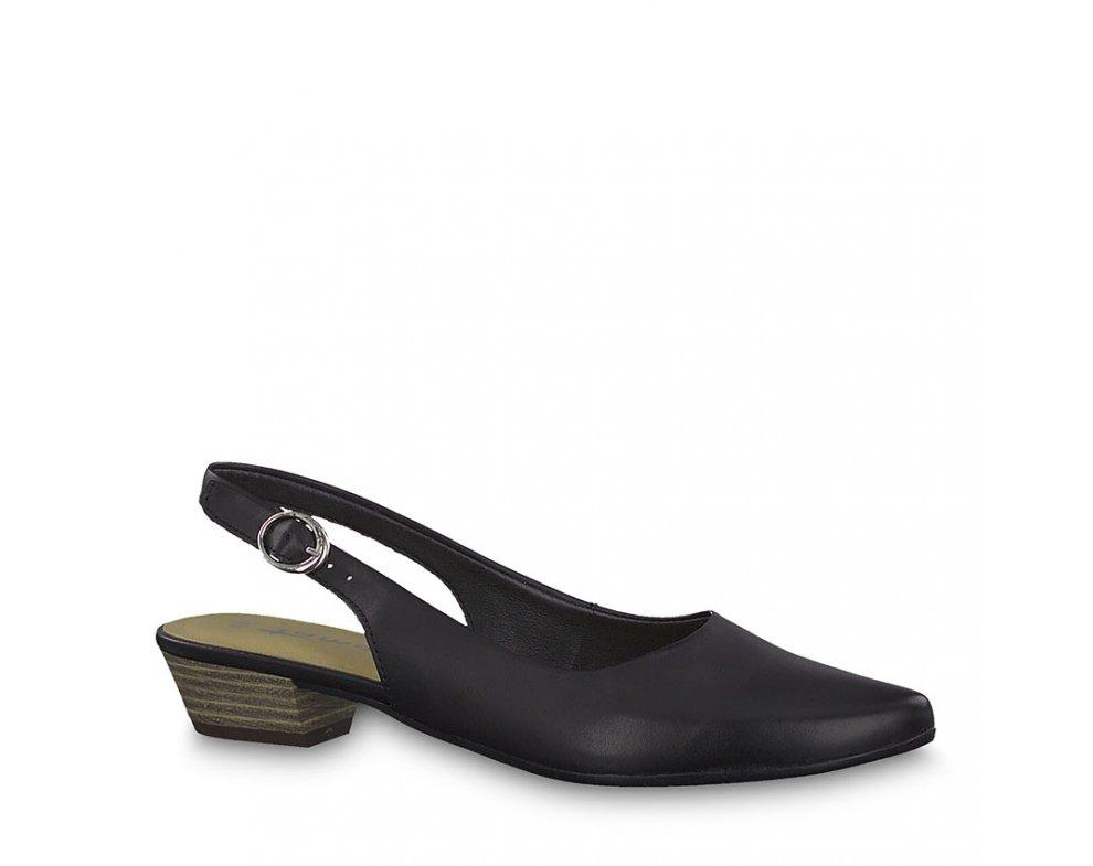 Sandále 1-1-29400-22 003 BLACK LEATHER