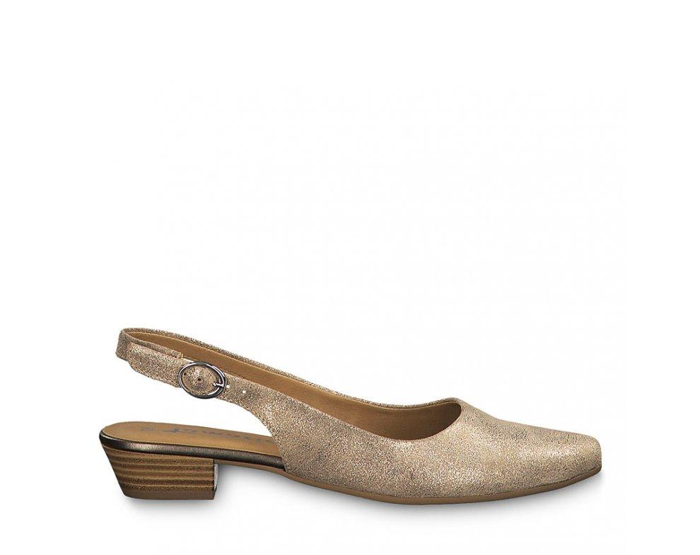 Sandále 1-1-29400-22 192 CHAMPAGNE MET.