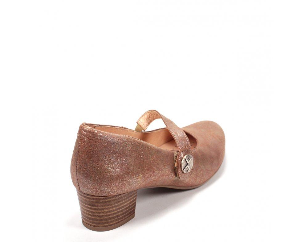 Elegantné poltopánky 8762-3 BROWN
