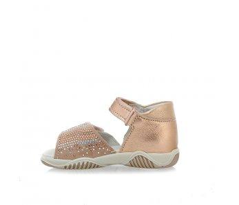 Dievčenské sandále 1362622 RAME/SKIN