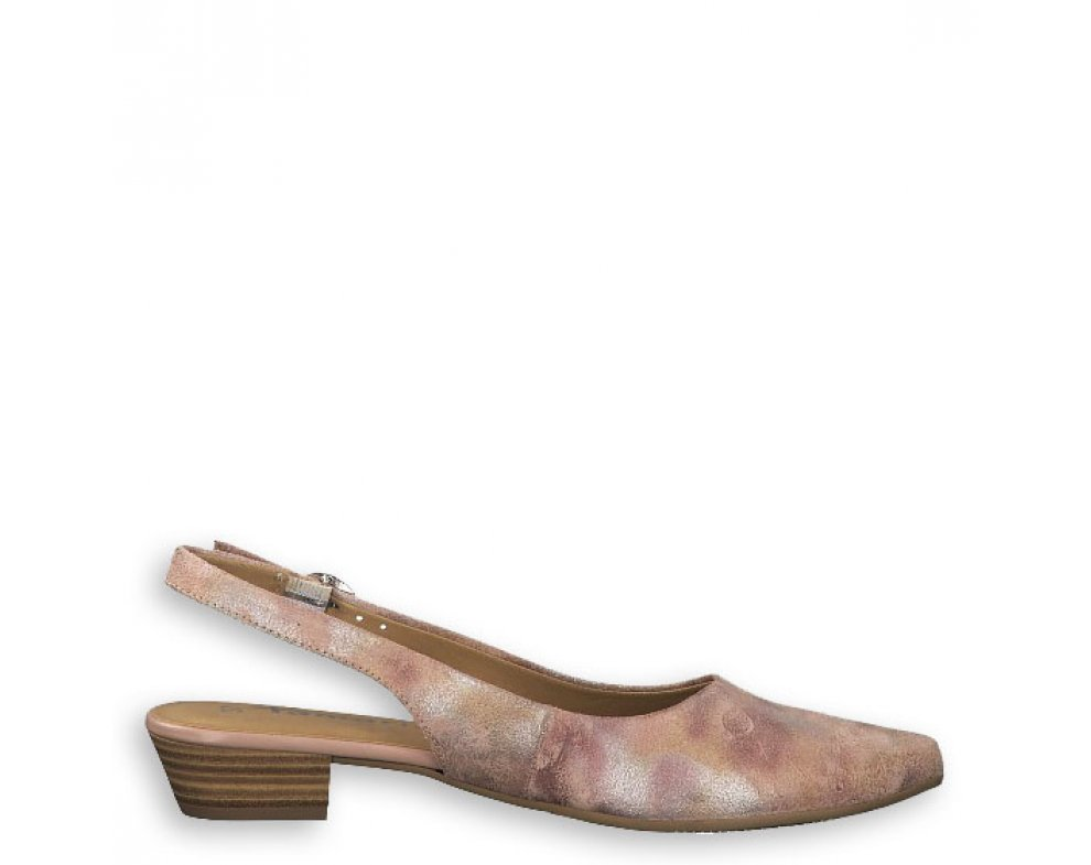 Sandále 1-1-29400-22 532 ROSE MET. COMB