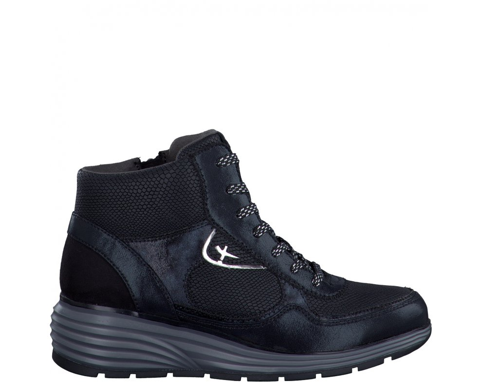 Vychádzková obuv Tamaris 1-1-25826-27-053 BLACK STR. COMB