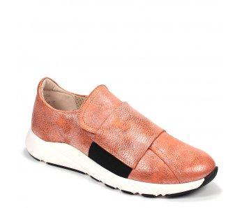 Štýlové sneakersy KIARA 8B55-3 ORANGE/NERO