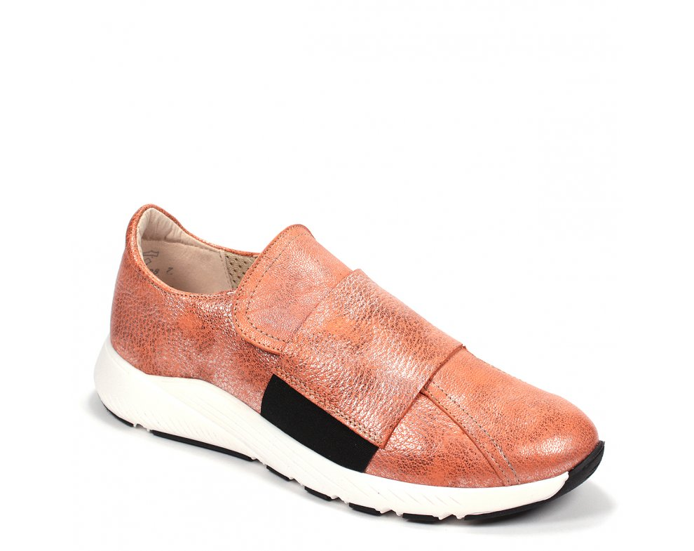 Štýlové sneakersy 8B55-3 ORANGE/NERO