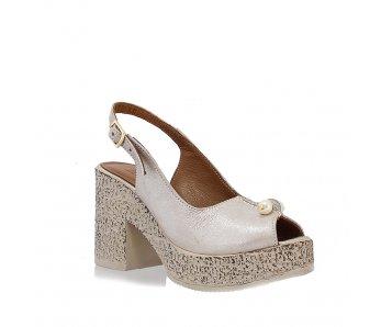 Sandále LP0410-72-18Y MINK SATIN